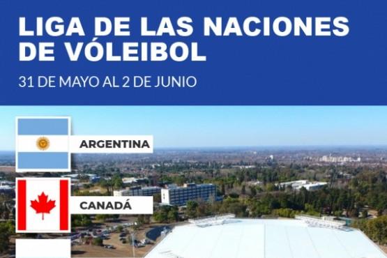 Presentación oficial de la Liga de las Naciones de Vóleybol