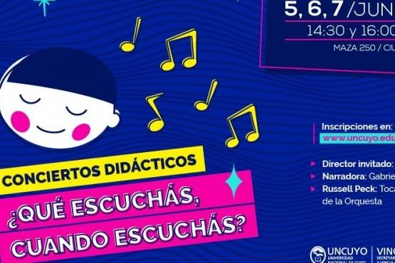 Conciertos didácticos en Mendoza