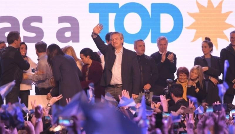 Datos oficiales de las PASO, derrota de Macri