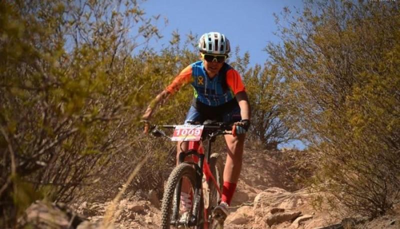 Desafío a los senderos de Mountain Bike