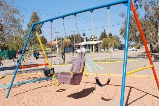 La Municipalidad recuperó una reconocida plaza en Vertientes del Pedemonte
