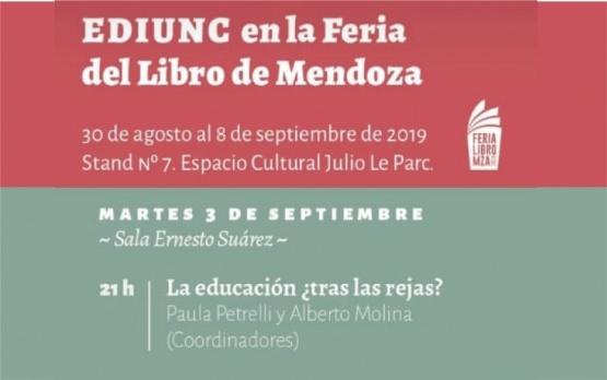 EDIUNC en la Feria del Libro de Mendoza