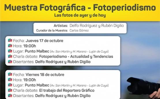 Muestra fotográfica - Fotoperiodismo