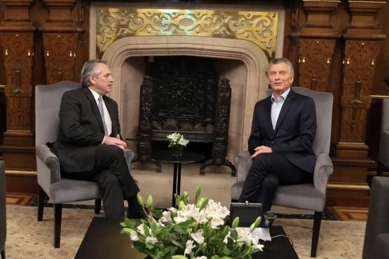 Macri se reunió con el presidente electo, Alberto Fernández