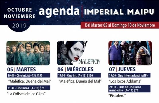 Agenda, Teatro Imperial Maipú