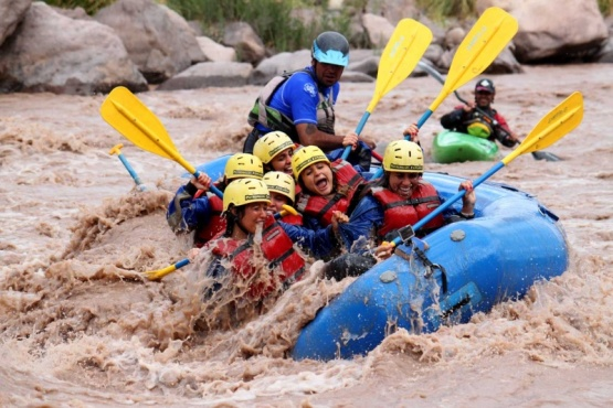 Mendoza sede de la última cita de Rafting