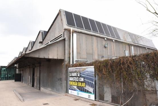 Más paneles solares en la Nave Cultural