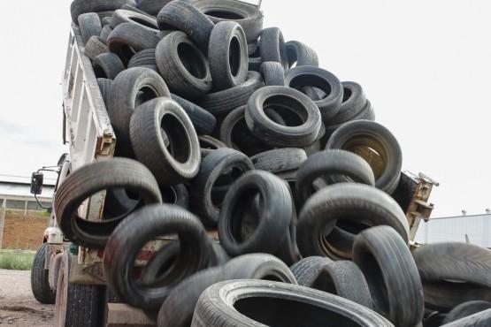 Mendoza lleva erradicadas más de 370 toneladas de neumáticos fuera de uso