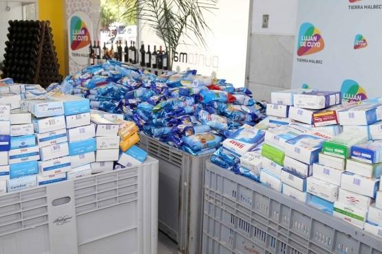 El Banco de Alimentos reconoció a la Municipalidad de Luján