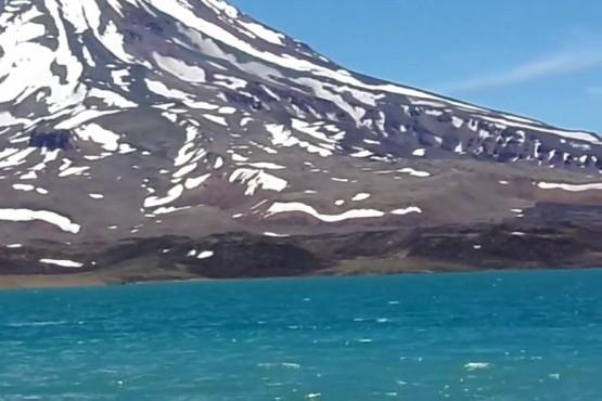 Más de 3.100 turistas visitaron Laguna del Diamante