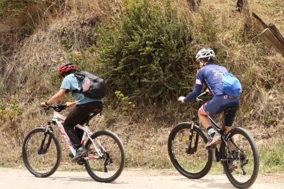 Disfrutar en bici con seguridad vial