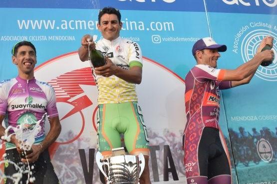 Dotti Campeón de la Vuelta de Mendoza
