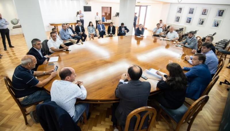 El Gobernador se reunió con intendentes de toda la provincia