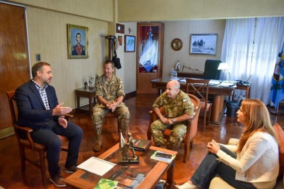 Stevanato se reunió con el responsable del Ejército
