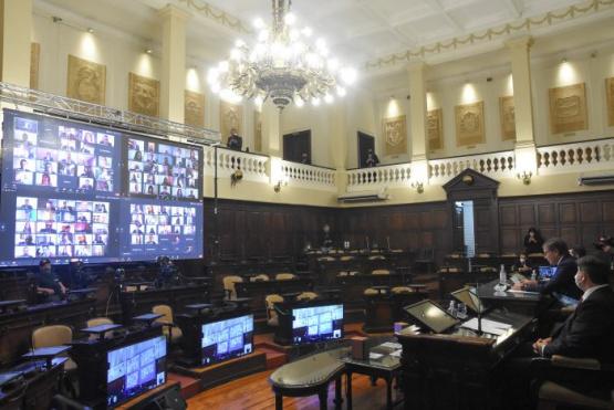 Comienzo de sesiones ordinarias en la Legislatura