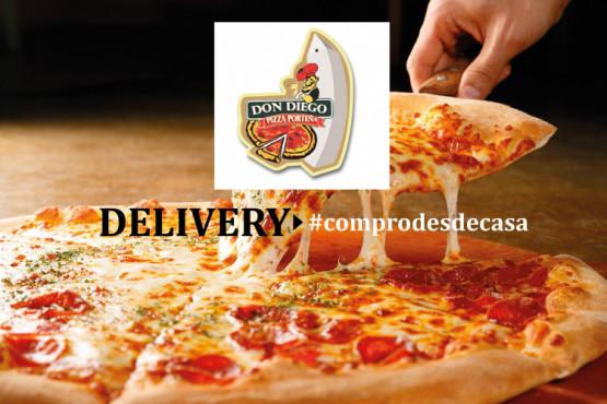 DON DIEGO - PIZZA PORTEÑA