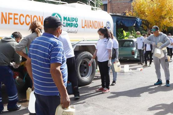 Maipú trabaja con prevención en 270 barrios