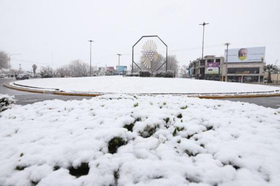 Nieve y frío en Mendoza