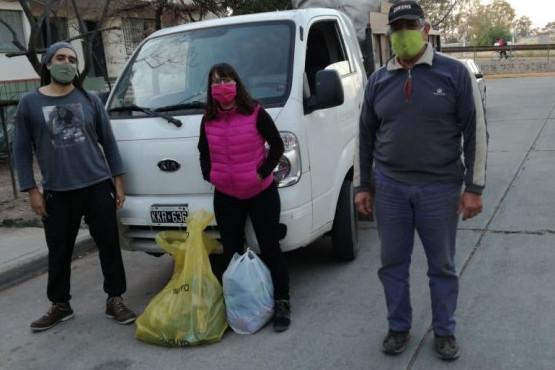 Se recolectó de los hogares más de 1500kg de materiales
