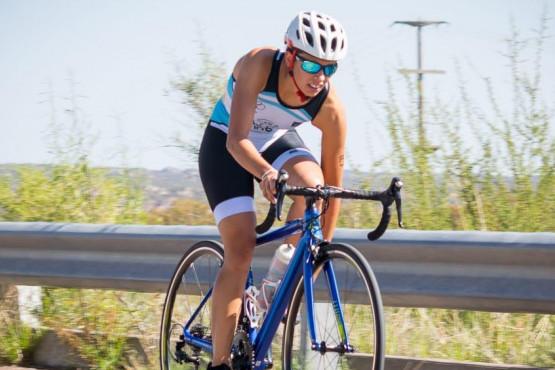 Florencia Mazzei entrena para el regreso