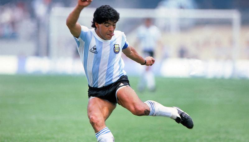 El adiós a un ídolo popular del deporte argentino, Diego Maradona.