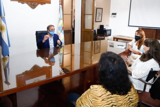 Stevanato se reunió con la ministra Salud para avanzar en el esquema de vacunación