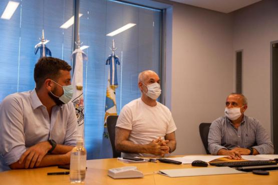 Bragagnolo firmó un convenio de colaboración con Larreta