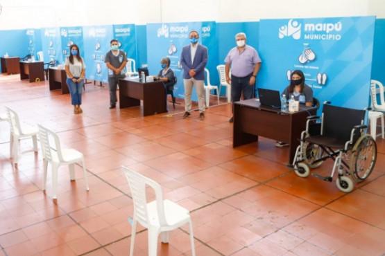 Maipú ya tiene listo su Centro de Vacunación contra el COVID-19