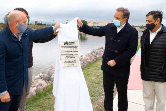 Maipú inauguró un nuevo espacio público en el Lago El Torreón