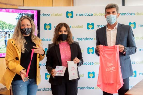 Ulpiano Suarez presentó la Carrera de la Mujer Vení a Correr, que celebra su 15.º aniversario