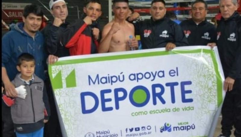El maipucino Diego Martínez peleará por su primer título profesional