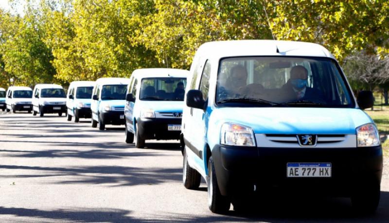 Maipú renovación de la flota automotriz y maquinaria pesada