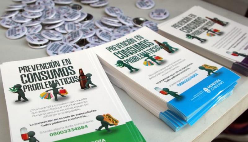 Mendoza inicia campaña preventiva en Consumos Problemáticos