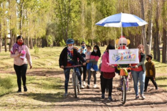 SANTA ROSA: DESDE NIÑOS SALUD Y DIVERSION !