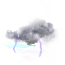 Tormentas eléctricas aisladas